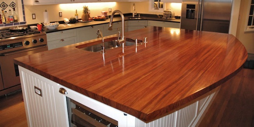Kitchen Counter Wood Laminate
