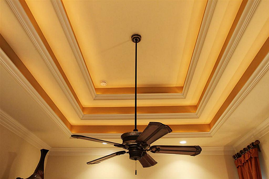 Custom ceiling styles from iklo home builders of texas for Types of ceiling designs
