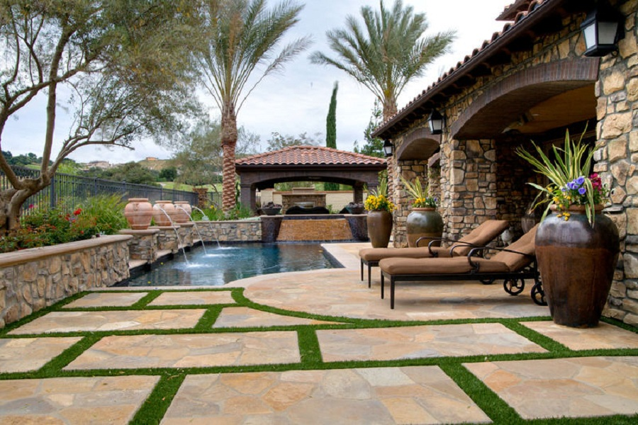 Outdoor and Landscape ~ IKLO Custom Home Builders ...