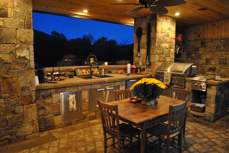Custom Outdoor Kitchens Houston Outdoor And Landscape ~ Iklo Custom