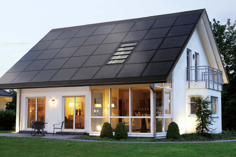 Green Home Builder innovative ideas ~ iklo houston home builders | solar panel roof