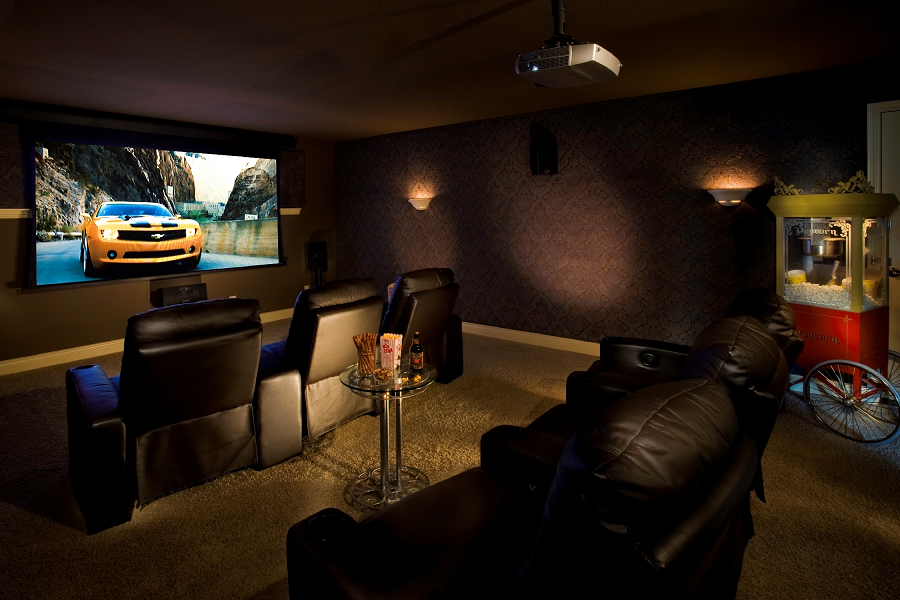 Media rooms on a budget home decoration club Home theater design ideas on a budget