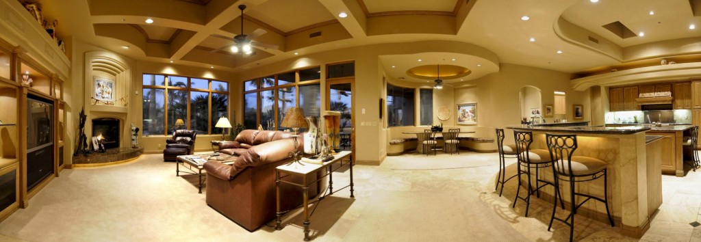 Choose interior exterior finish in your custom home in Custom home interior design
