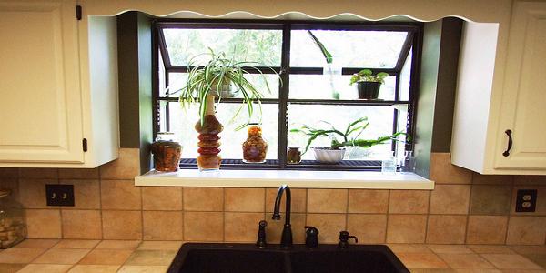 Iklo garden window