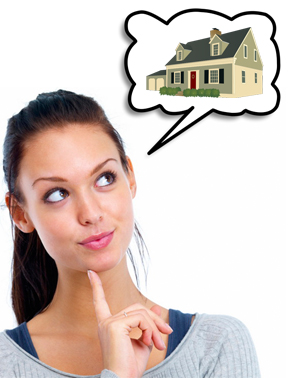 Lady thinking of building a custom home in Houston TX