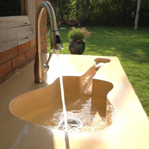 Iklo Bathroom custom sink 1