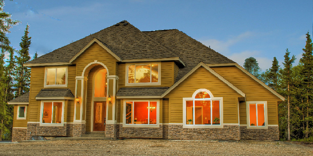 Exterior home wall styles many options from iklo custom for Exterior home styles