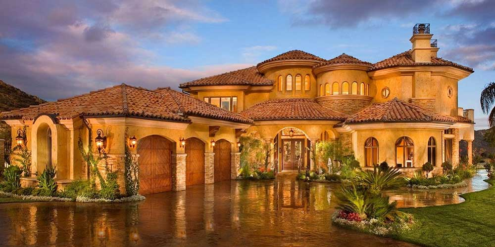 Affordable luxury custom home builders houston tx new Mediterranean style homes houston