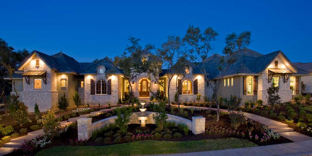 Affordable luxury custom home builders houston tx new for Build house on your own land