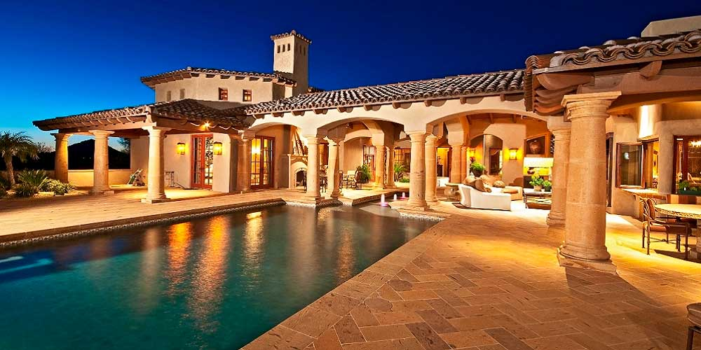 Mediterranean custom home builders houston iklo homes for Beautiful mediterranean homes