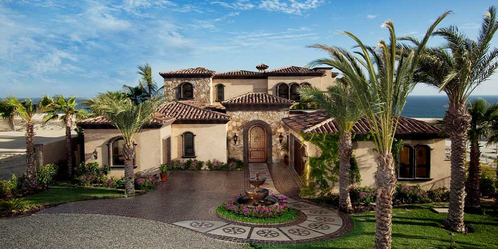 Custom home builder houston luxury affordable for Custom mediterranean homes