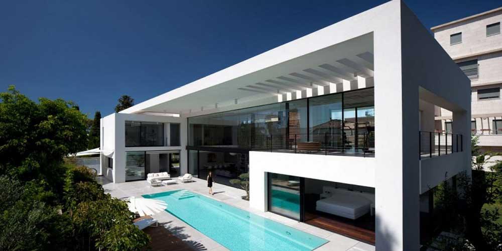 Premier Custom Home Modern Texas